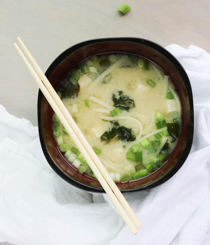 Miso Udon Noddle Soup