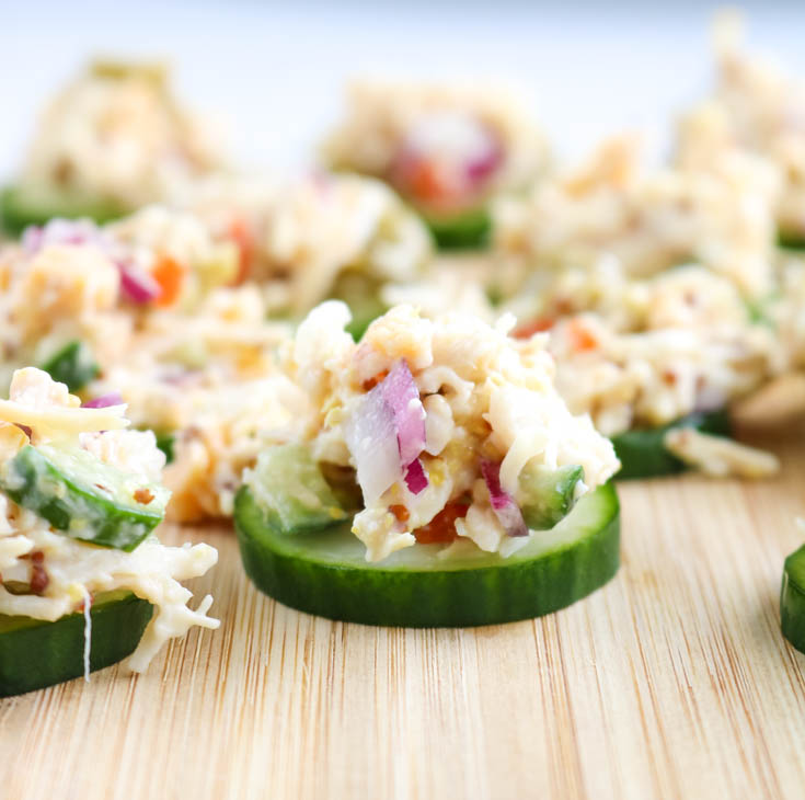 Low Carb Light Amp Healthy Chicken Salad Recipe I Dream Of Food Low Carb And Keto Recipes And