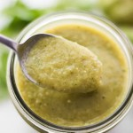 Easy Green Chili Enchilada Sauce using Hatch Chilies and Tomatillos