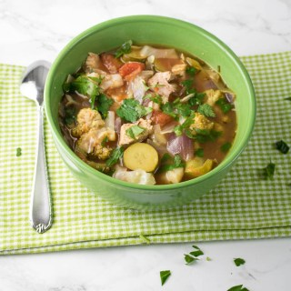 Simple Turkey Vegetable Soup