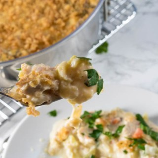 Low Carb Turkey Tetrazzini with Noodles