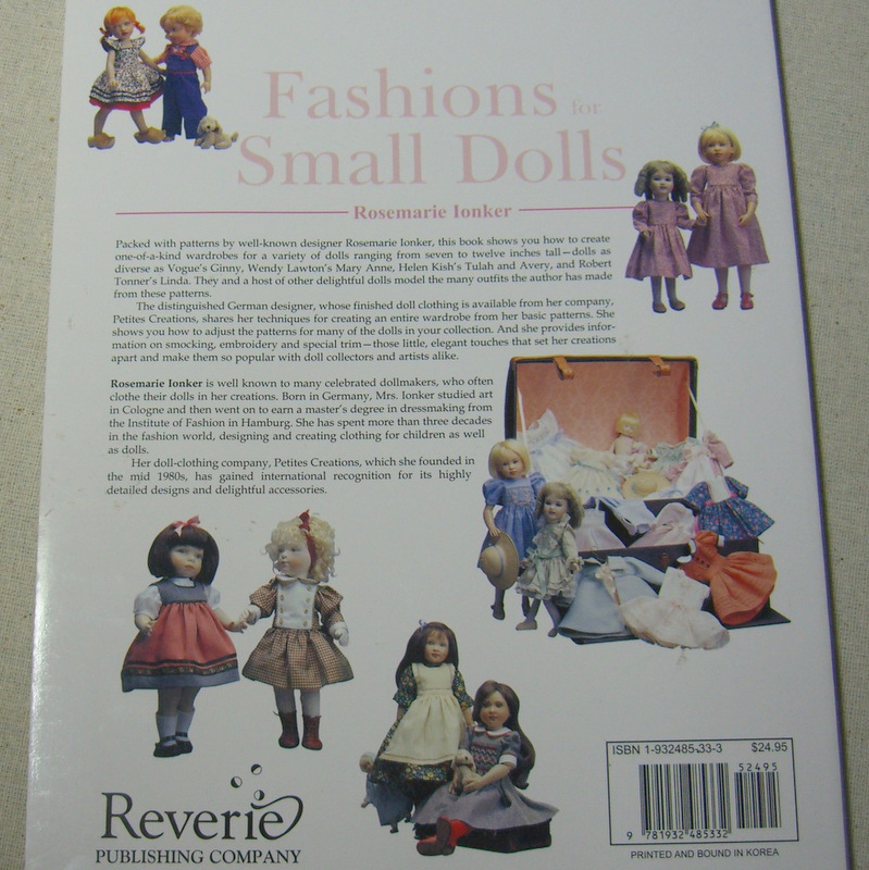Fashions for small dolls 37