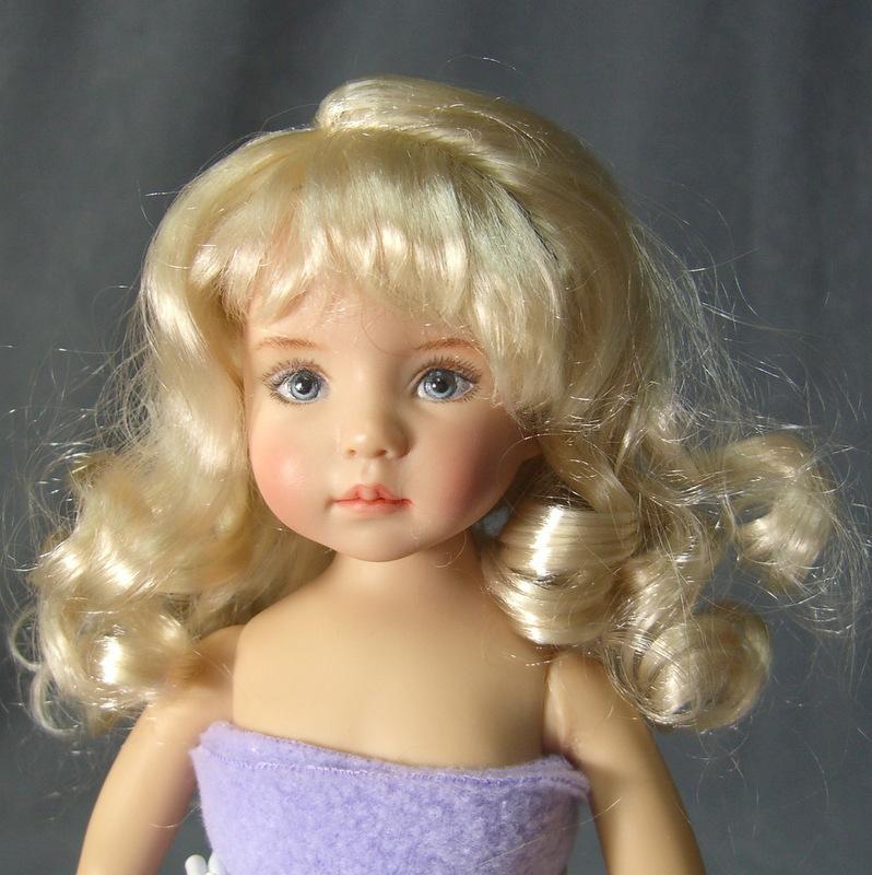 Giving A Doll Wig A Haircut