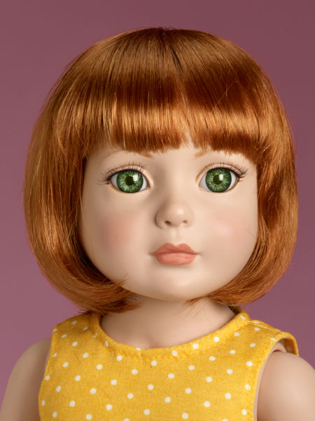 Blog Red head closeup starter doll from tonner