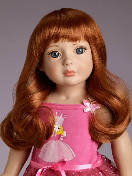 Blog Red long wig by Tonner for Starter dolls