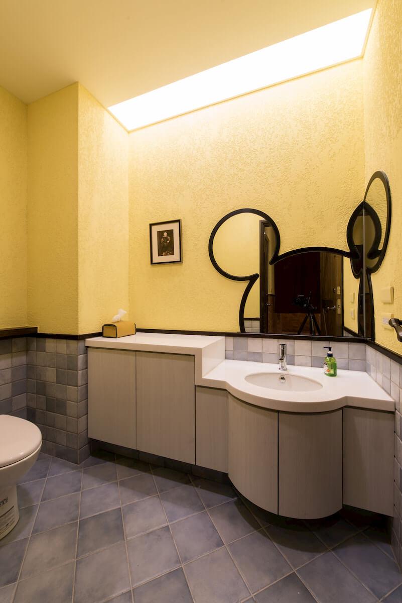 商業空間設計作品:洗手間