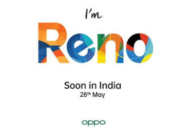 OPPO Reno Series Launching on May 28th in India