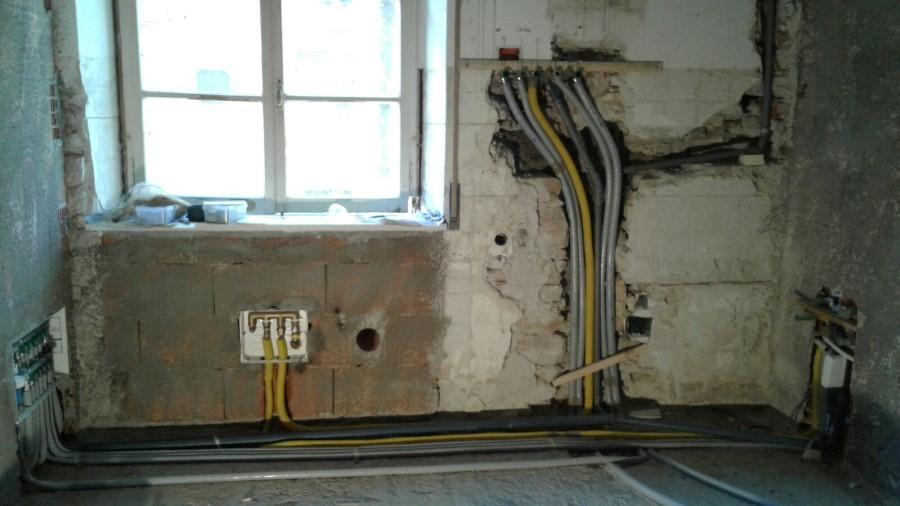 Impianto casa in muratura