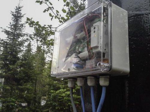 Pointeur solaire - Sun tracker- réalisé au Québec