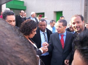 Ministre du Maroc à Rabat