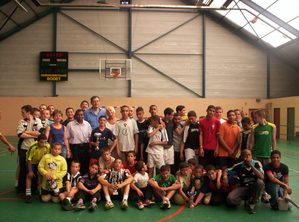 Tournoi footsalle avril 2004