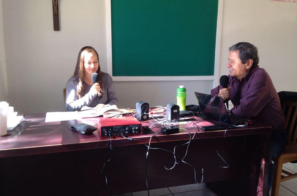 El Instituto presente en Radio Guadalupana, ¡la alegría del Evangelio!