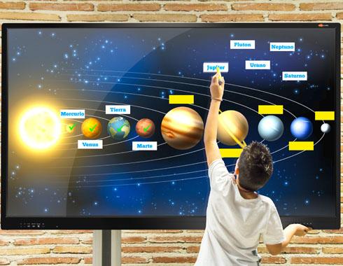 Aulas Digitales - Ejemplo instalación PDI