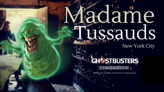 Madame Tussauds in NYC - Ghostbuster Experience