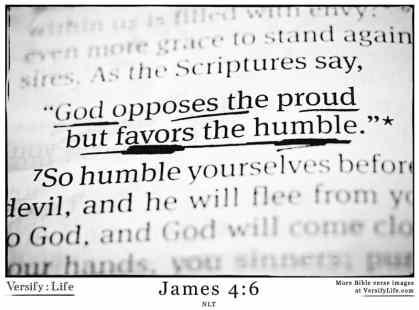 James-4:6