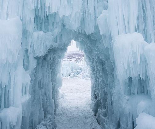 Narnia-Like Ice Castle in Stillwater, MN