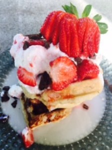 These waffles will break your heart. What's the secret ingredient? www.idyllicpursuit.com