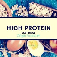 Get More Protein in Your Day with This Yummy Oatmeal