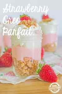 Strawberry Oreo Parfait and other strawberry recipes at www.idyllicpursuit.com