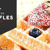 The Best Waffles {EVER}