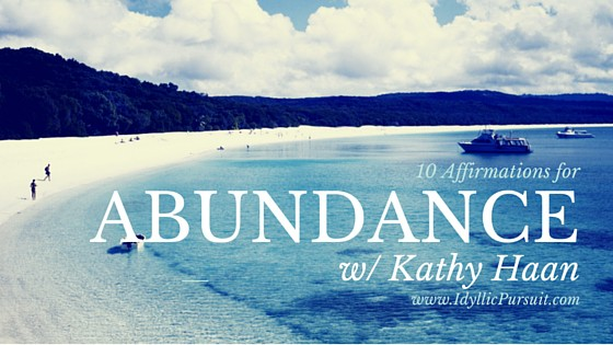 10 Affirmations for Abundance