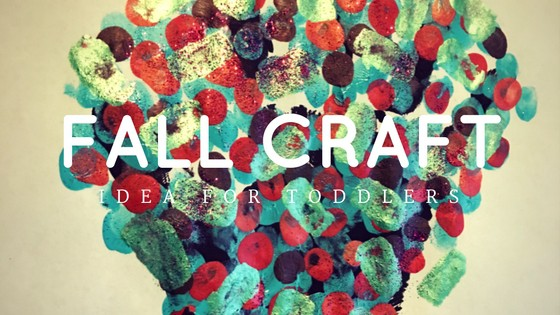 Fall Craft Idea for Toddlers at www.idyllicpursuit.com