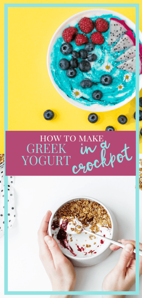How to Make Greek Yogurt in Your Crockpot