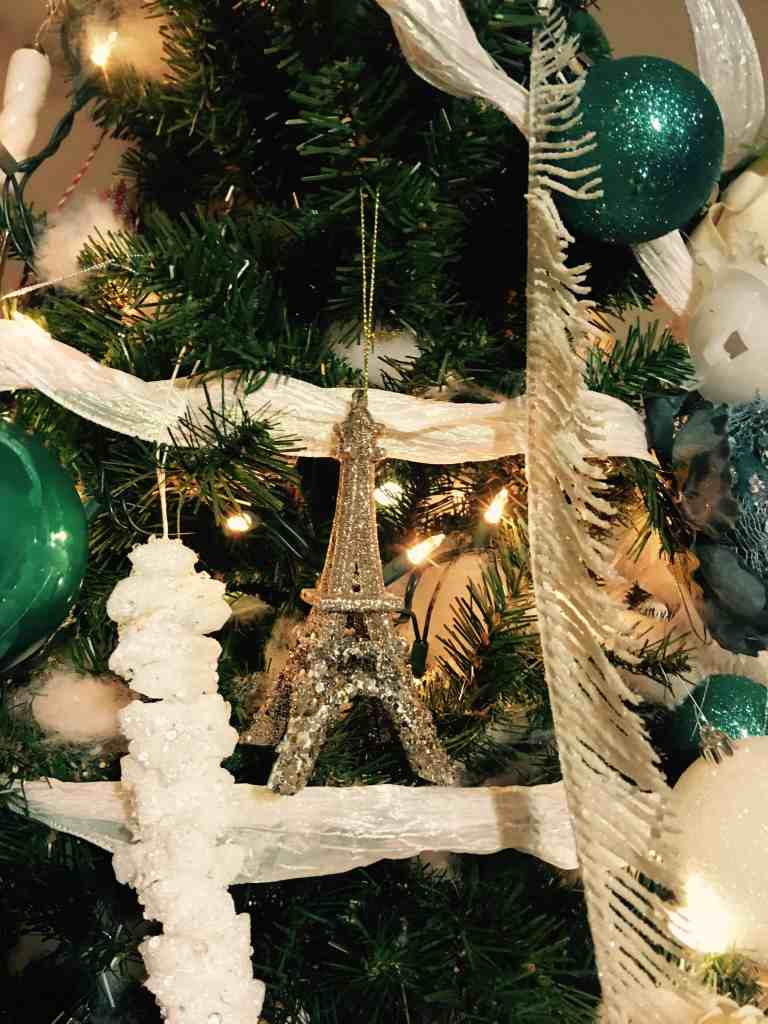 I'm partial to the Eiffel Tower ornament!