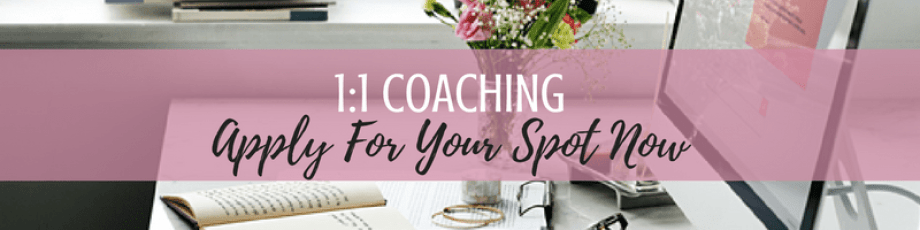 Ready to apply for Kathy Haan's 1:1 coaching program? Apply now
