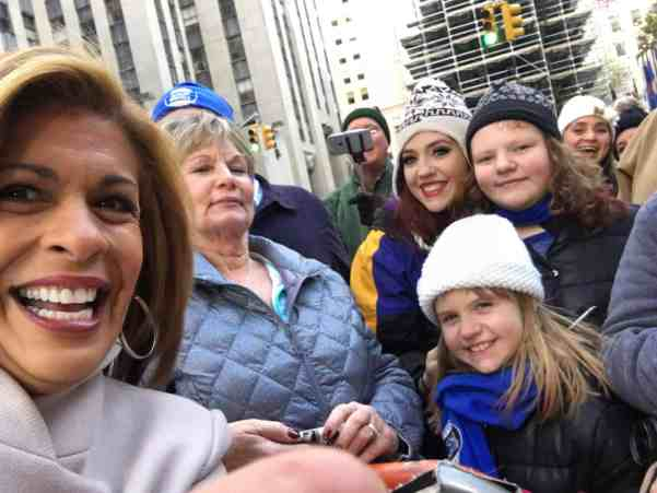 A week in NYC with the kids over Thanksgiving - in the audience of the Today Show!