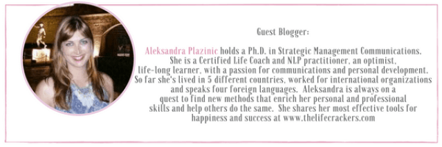 Aleksandra Plazinic Guest Blogger