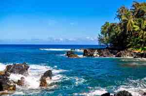 A stop along the Road to Hana
