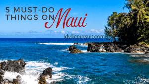 5 must-do things on Maui