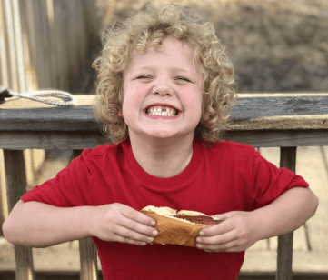 Our son with Sensory Processing Disorder