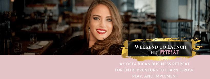 Weekend to Launch -- The Retreat ; business retreat, costa rica retreat
