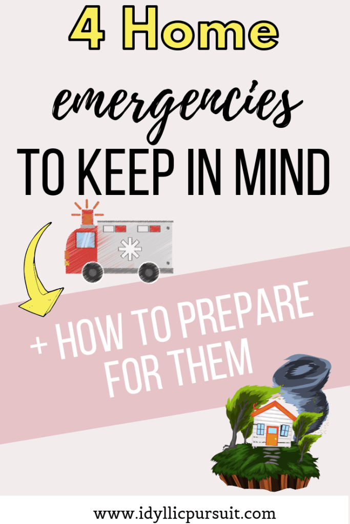 Home emergencies you need to plan for.