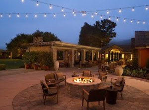 Bernardus Lodge & Spa fire pits