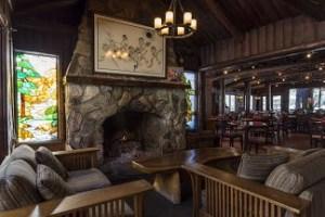 Big Sur River Inn Fireplace