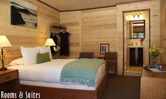 Big Sur River Inn beds
