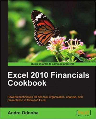 Excel 2010 Financials Cookbook