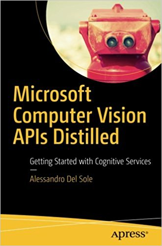 "Microsoft Computer Vision APIs Distilled Author: Alessandro Del Sole ISBN-10: 1484233417 Year: 2018 Pages: 90 Language: English File size: 2.4 MB File format: PDF Category: C & C++ .NET Hardware & DIY Book Description: Dive headfirst into Microsoft's Computer Vision APIs through sample-driven scenarios! Imagine an app that describes to the visually impaired the objects around them, or reads the Sunday paper, a favorite magazine, or a street sign. Or an app that is capable of monitoring what is happening inside an area without human control, and then makes a decision based on interpreting an occurrence detected with a live camera. This book teaches developers Microsoft's Computer Vision APIs, a service capable of understanding and interpreting the content of any image. Author Del Sole begins by providing a succinct ""need to know"" overview of the service with descriptions. You then learn from hands-on demonstrations that show how basic C# code examples can be re-used across platforms. From there you will be guided through two different kinds of applications that interact with the service in two different ways: the more common means of calling a REST service to get back JSON data, and via the .NET libraries that Microsoft has been building to simplify the job (this latter one with Xamarin)."