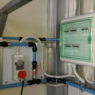 Impianto elettrico per azienda ittica