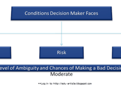 3 Decision Making Conditions