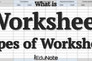 Worksheet: Definition, Types, Preparation Process (Explained)