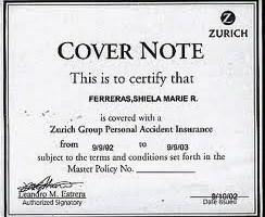 Insurance Cover Note: How Insurance Cover Note Works