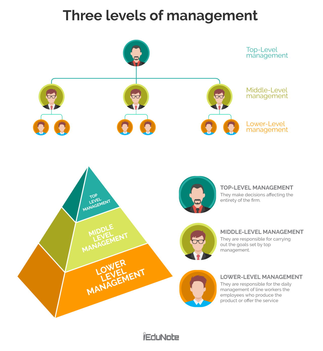 40 Management Levels in Organizational Hierarchy