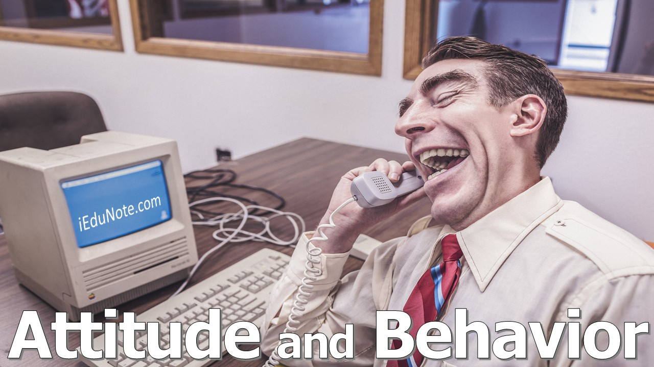 Attitude Behavior