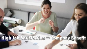 How Job Satisfaction Benefits the Company