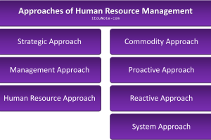 Approaches of Human Resource Management
