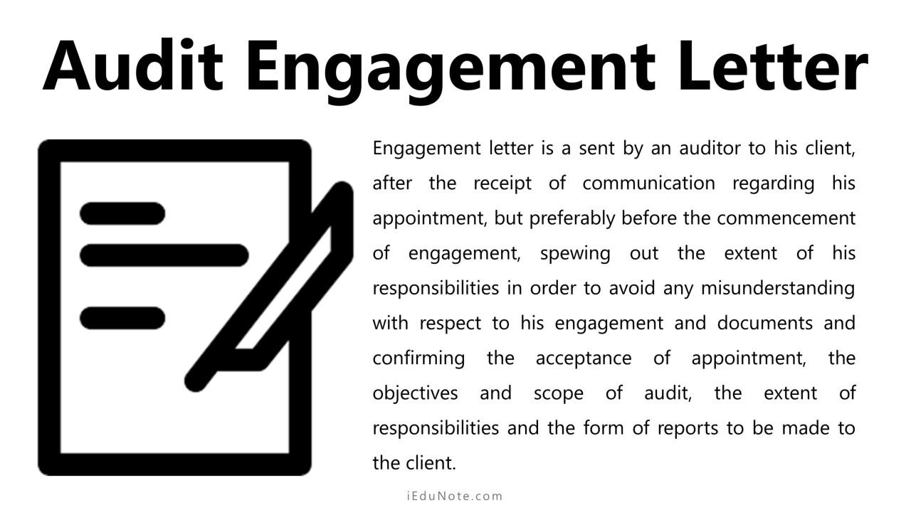 Audit Engagement Letter
